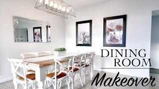 DINING ROOM MAKEOVER! Hamptons Style