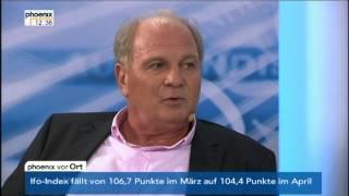 Uli Hoeneß: Weg von der Spekulation in Rohstoffe und Lebensmittel!