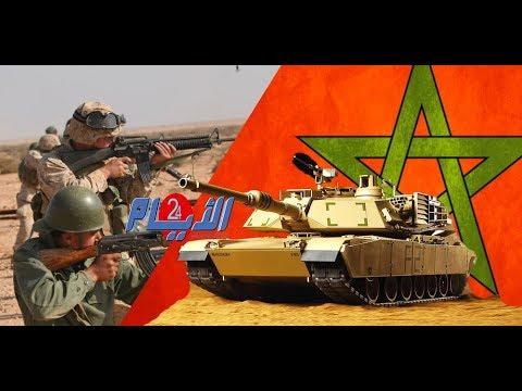 بالفيديو ..دفعة جديدة من الدبابات ..المغرب متفوق عربيا في حيازة هذا السلاح المتطور