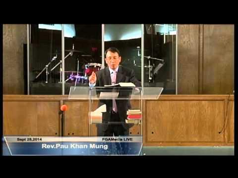 [FGATulsa]#1053#Sept 28,2014 Zomi Service (Pastor Pau Mung)