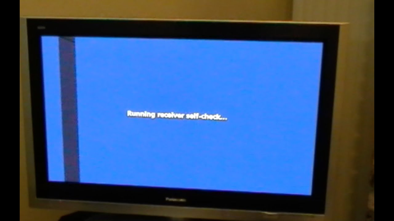 Fix Panasonic Plasma Tv Vertical Or Horizontal Bars Youtube