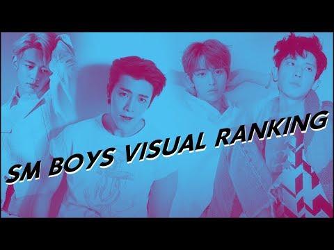 SM BOYS VISUAL RANKING