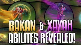 XAYAH & RAKAN ABILITIES REVEALED! - NEW CHAMPIONS | League of Legends