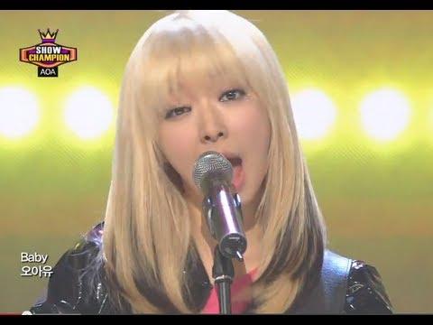 AOA - MOYA, 에이오에이 - 모야,  Show Champion 20130731