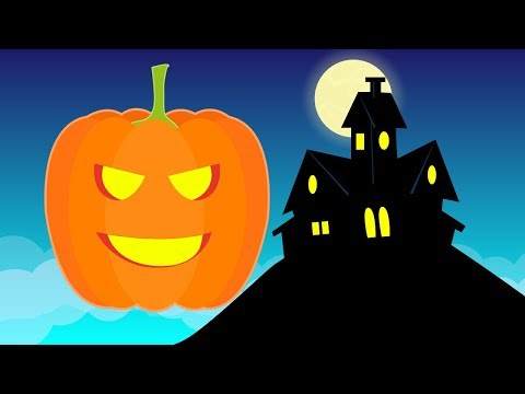 Haunted House | Halloween songs for children | Little Blue Globe Band