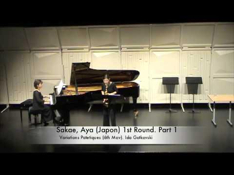 Sakae, Aya (Japon) 1st Round. Part 1
