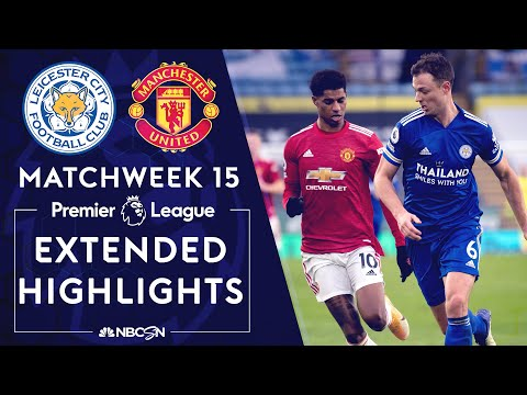 Leicester City v. Manchester United | PREMIER LEAGUE HIGHLIGHTS | 12/26/2020 | NBC Sports
