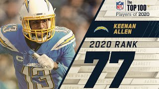 #77: Keenan Allen (WR, Chargers)   Top 100 NFL Players of 2020