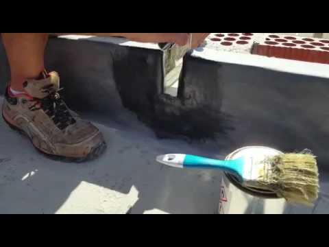 Impermeabilización desagüe epdm aliviadero en cubierta plana