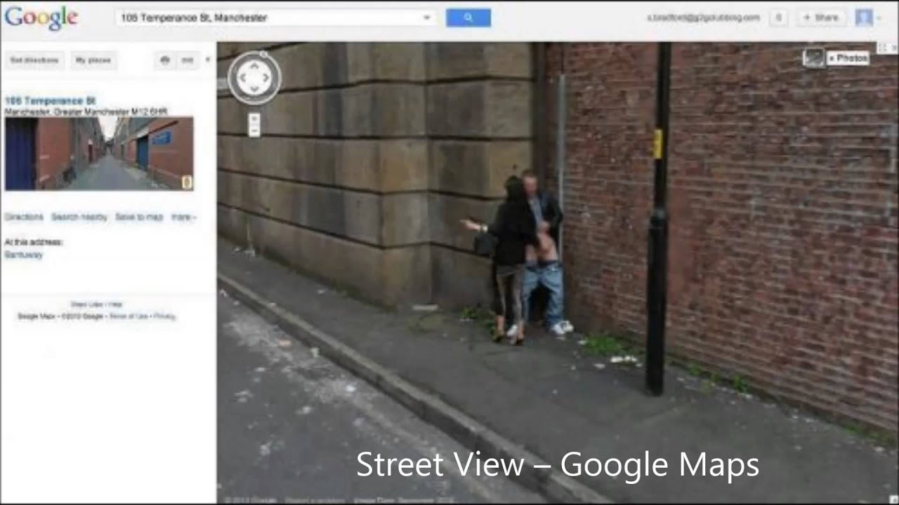 hot women on google street view