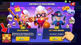 BRAWL STARS - ON ACHÈTE LE NOUVEAU BRAWL PASS SAISON 6 + NOUVELLE ICONE !!