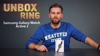 VISIŠKAI NAUJAS SMART WATCHAS! | Samsung Galaxy Watch Active 2 | Unbox Ring apžvalga