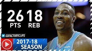 Dwight Howard Full Highlights vs Rockets (2017.12.13) - 26 Pts, 18 Reb, 3 Blocks