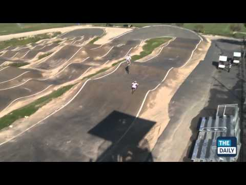 Olympics Preview: Arielle Martin, BMX Racer - YouTube