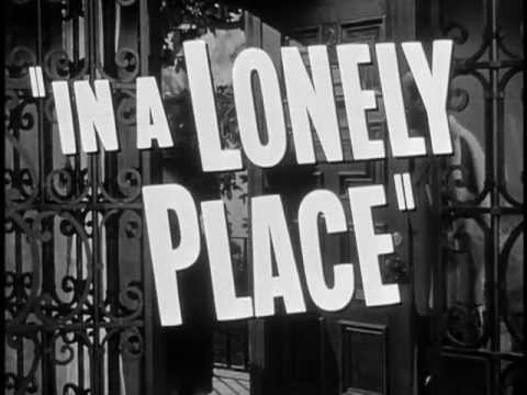 In a Lonely Place'