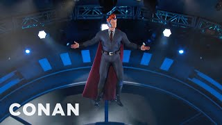 Conan's Super #ConanCon Entrance  - CONAN on TBS