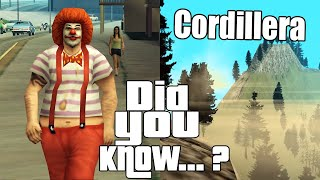 GTA San Andreas Secrets and Facts 12
