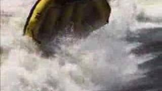 Rafting eaux très vives
