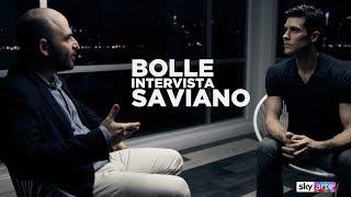 Bolle intervista Saviano - SkyArte