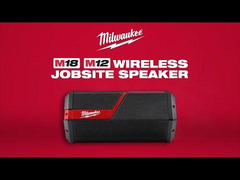 Milwaukee M12-18JSSP-0 Bluetooth Speaker M12-M18 Body Only