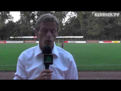 Michael Fischer (VfL Pinneberg) und Ralf Palapies (SV Rugenbergen) - Die Stimmen zum Spiel (VfL Pinneberg - SV Rugenbergen, ODDSET-Pokal) | ELBKICK.TV