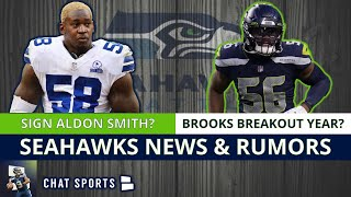 Seattle Seahawks News & Rumors: Sign Aldon Smith In NFL Free Agency + Jordyn Brooks Breakout Year?