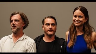 """NYFF52: """"Inherent Vice"""" Press Conference 