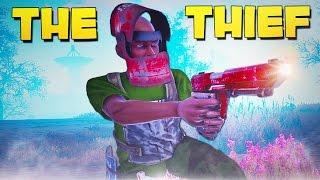 THE THIEF! - Rust SOLO Survival!