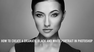How to Create a Dramatic Black and White Portrait in Photoshop