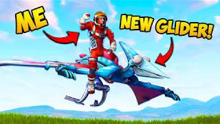 DINOSAUR GLIDER!! (EPIC) - Fortnite Funny Fails and WTF Moments! #233 (Daily Moments)