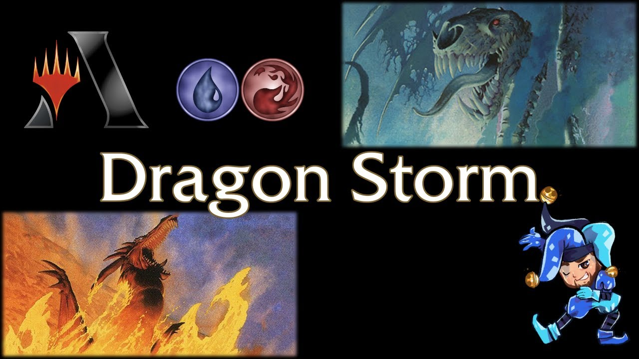 Blue Red Dragonstorm - Historic Magic Arena Deck - October 13th, 2021