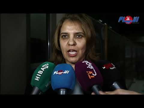 محامية الطرف المدني دخلات طول وعرض في إسحاق شاريا
