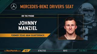 Johnny Manziel Talks XFL, Life After Football & More with Dan Patrick | Full Interview | 6/10/19