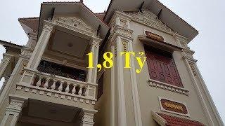 Thăm quan mẫu nhà biệt thự mái thái 2 tầng TO ĐẸP tại tỉnh Ninh Bình