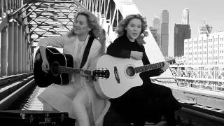 Tolmachevy Sisters - Shine (Version 2: black and white) thumbnail