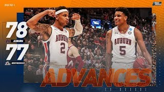 Watch Auburn-New Mexico State's nail-biting finish in 9 minutes