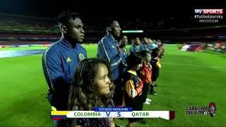 colombia vs Qatar (partido quedo 1 - 0) ganando Colombia 🇨🇴🇨🇴