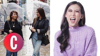Alex Gonzaga Imitates Mommy Pinty