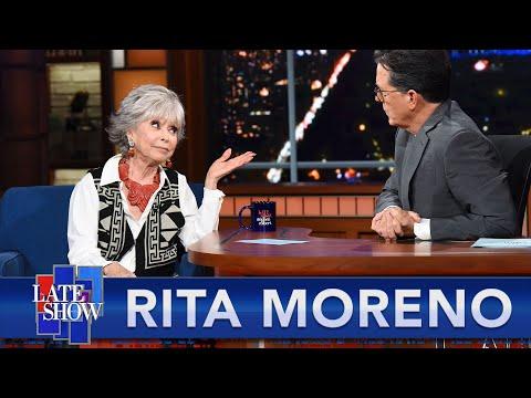"Rita Moreno Defends Her Friend Lin Manuel Miranda Over ""In The Heights"" Controversy"