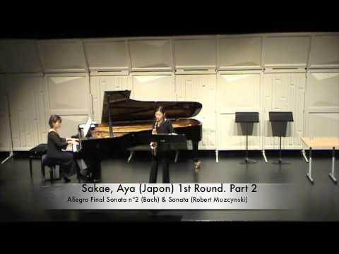 Sakae, Aya (Japon) 1st Round. Part 2