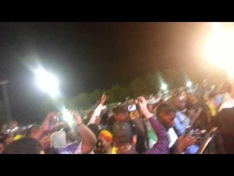 Teddy Afro - Tikur Sew at a Concert in Sudan Khartoum
