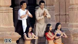 Kung Fu Yoga Shooting : Jackie Chan Dances With Farah Khan..