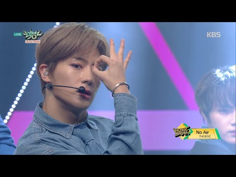 뮤직뱅크 Music Bank - No Air - THE BOYZ.20190104