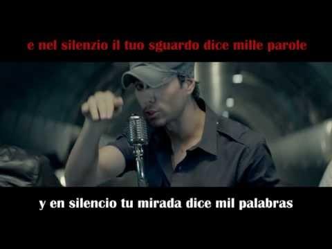 Enrique Iglesias - Bailando - Spanish and Italian Lyrics