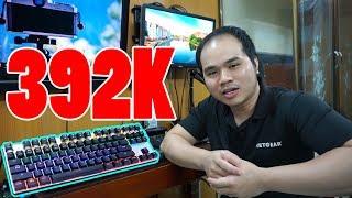Không ngờ bàn phím cơ Zero E-Sport 87K giá đã rẻ mà gõ văn bản lại phê quá các bạn ơi
