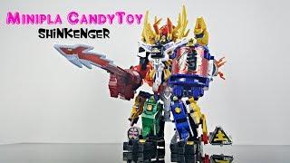 Minipla Candytoy Shinkenger 侍戦隊シンケンジャー