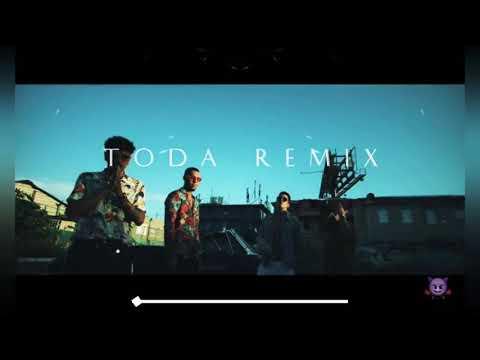 Alex Rose Ft. Raw Alejandro, Lenny Tavarez, Lyanno y Cazzu – Toda Remix