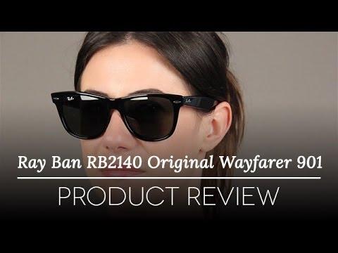 Ray-Ban RB2140 Original Wayfarer 901 Sunglasses Review - Ray Ban Original Wayfarer 54 mm Review