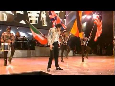 Michael Jackson - (TDCAU Istrumental intro + History) - Live - [HD 720p - widescrean]