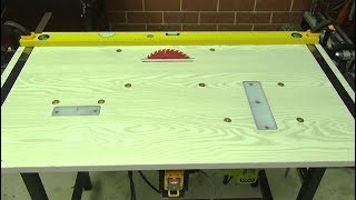 3 in 1 Workbench. How to build a Workbench. Table Saw, Router table, Jig saw table. DIY. Workshop.